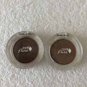 100% Pure Fruit Pigmented Eyeshadow Duo